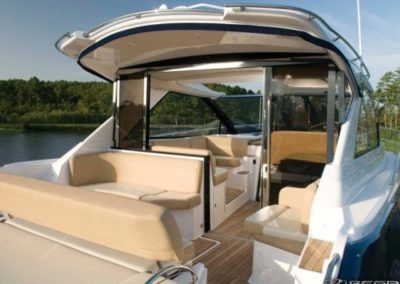 46 Regal yacht aft deck
