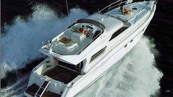 60 Viking Miami charter yacht