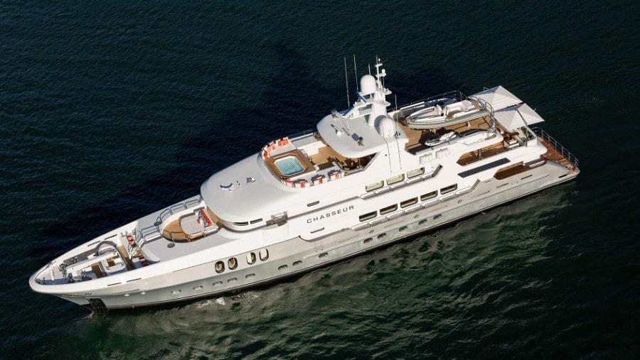 160 Christensen luxury charter yacht