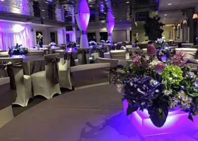 130 Custom party yacht flower disply
