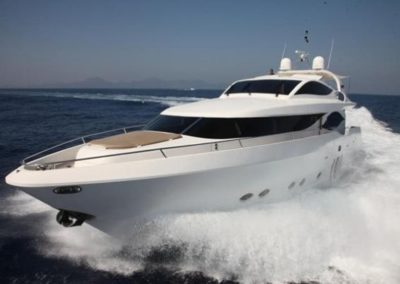 90 Eagle yacht Miami charter