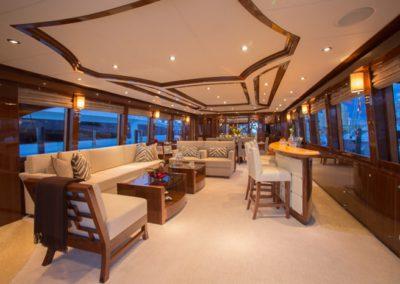 101 Hargrave yacht salon