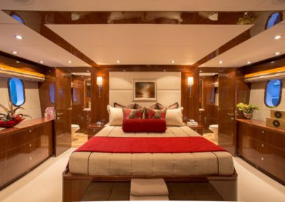 101 Hargrave luxury yacht master stateroom