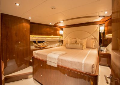 101 Hargrave yacht VIP stateroom