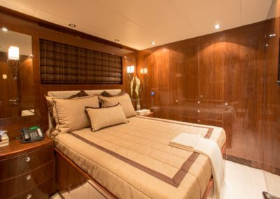 101 Hargrave yacht guest stateroom