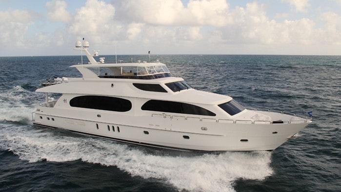 101 Hargrave luxury Miami charter yacht