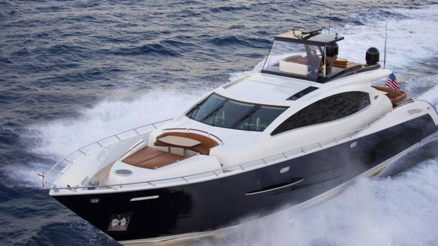 92 Lazzara Miami charter motor yacht