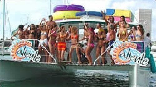 40 Power Catamaran party in Miami
