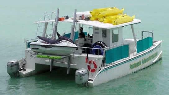 40 Power Miami party Catamaran