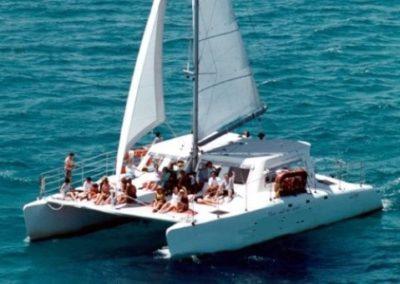 50 Sailing party Catamaran cruising in Miami