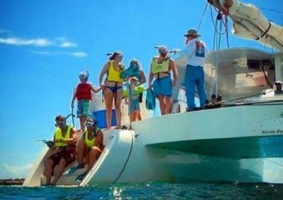50 Sailing party Catamaran snorkling adventure
