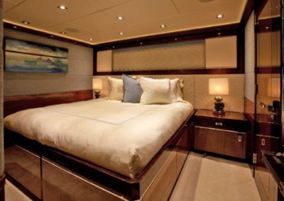 120 Trinity yacht guest stateroom two