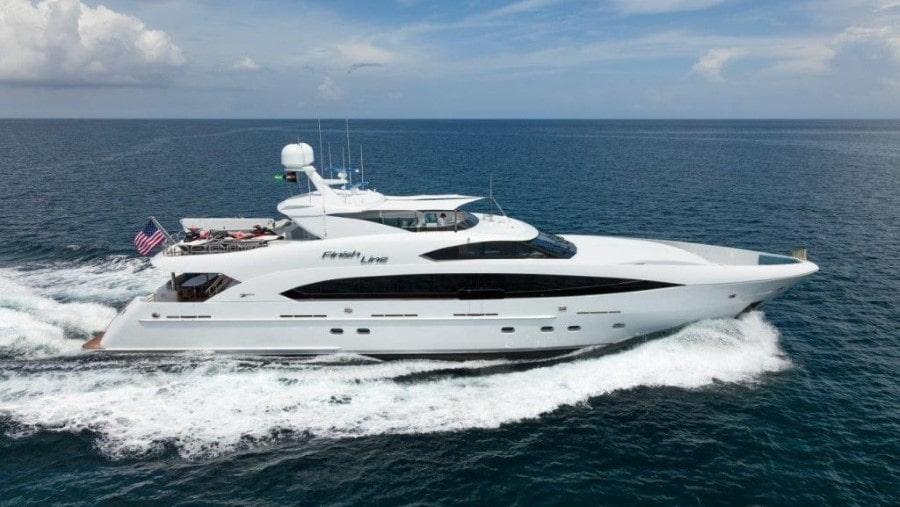 120 Trinity luxury charter yacht