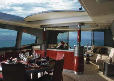 87 Warren yacht salon dining
