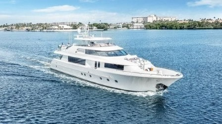 112 Westport luxury yacht
