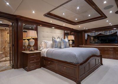 142 Trinity yacht master stateroom