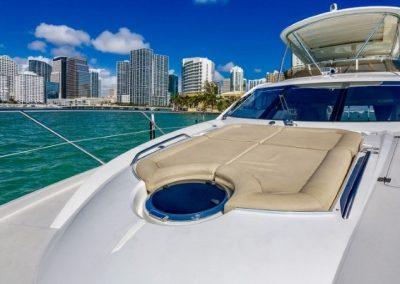 66 Sunseeker yacht sunpads