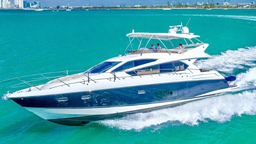 66 Sunseeker Miami rental yacht