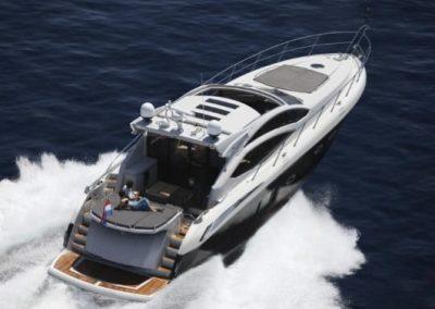 64 Sunseeker yacht luxury cruising